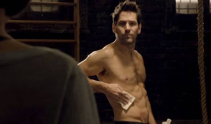 Paul Rudd's Ant-Man abs
