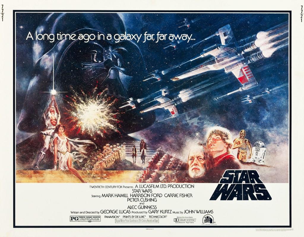 Image result for star wars poster 1977