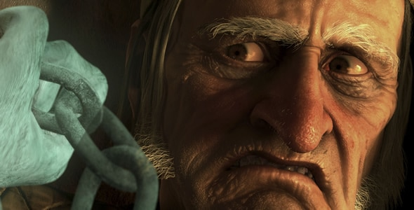 Christmas Carol Jim Carrey.New Clip From Christmas Carol Might Make You Throw Up
