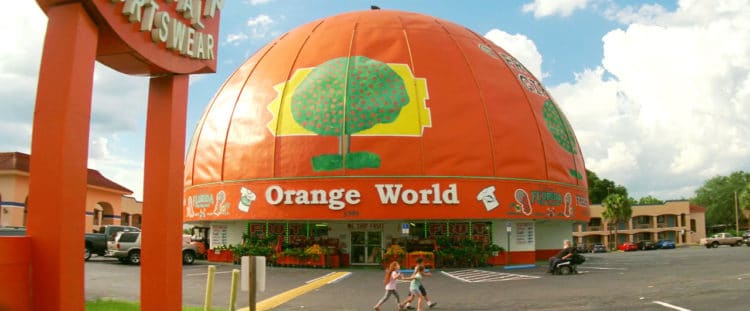 Florida Project Orange World