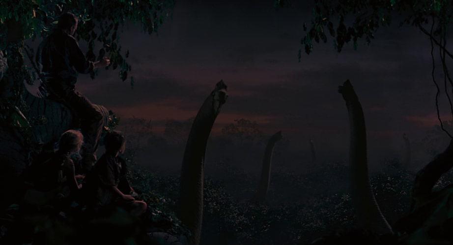 Sunset Jurassic Park