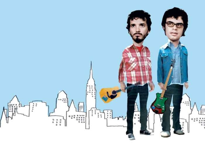 Flight Of The Conchords Title Card