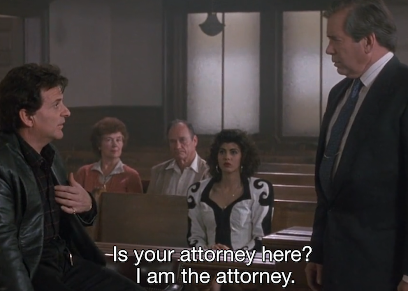 My Cousin Vinny I Am The Attorny