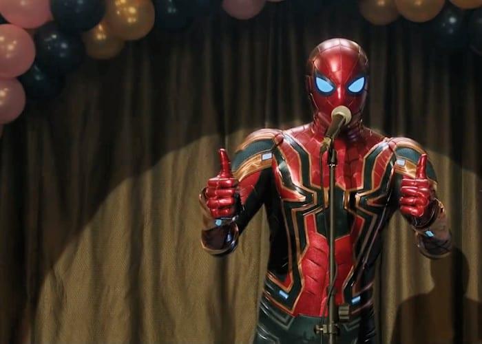 Spider Man Far From Home Thumbs Up