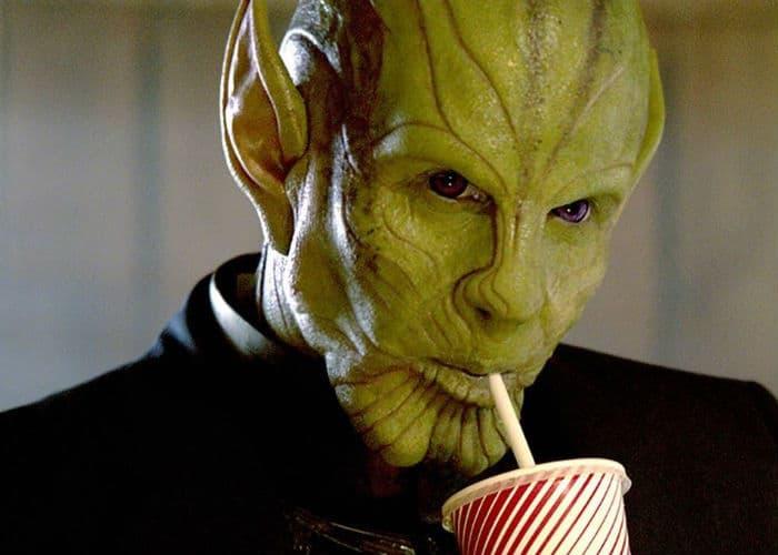 Captain Marvel Talos Drinkin