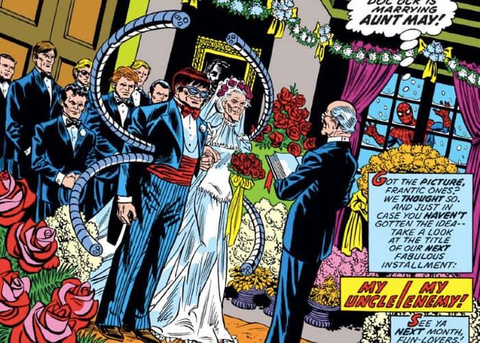 Doc Ock Marries Aunt May