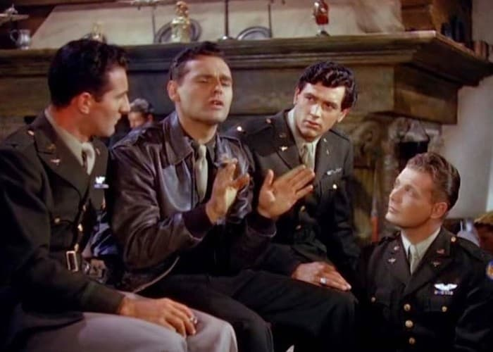 Rock Hudson In Fighter Squadron