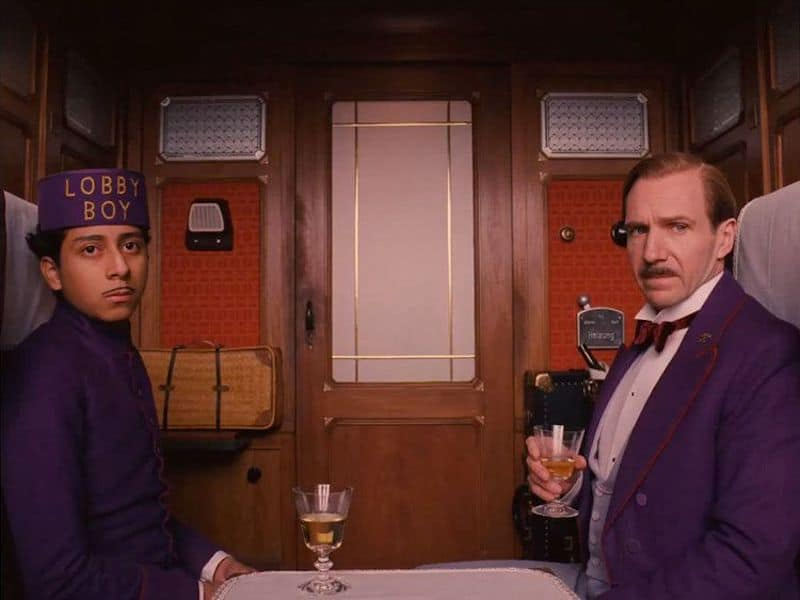 Grand Budapest Drinks On Train