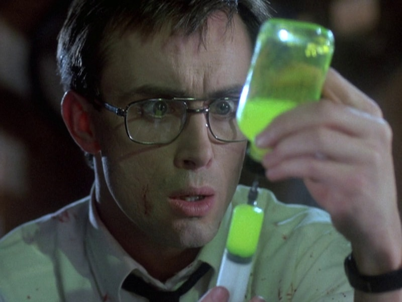 Stuart Gordon and Jeffrey Combs Reanimator