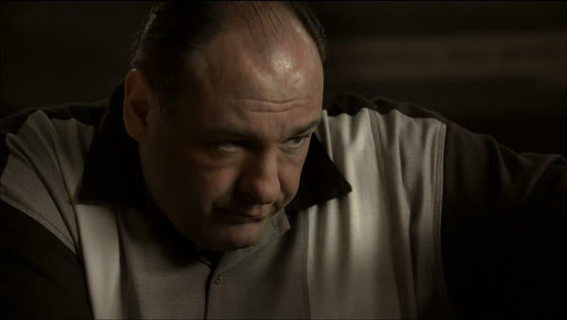 Tony Soprano Looking Down