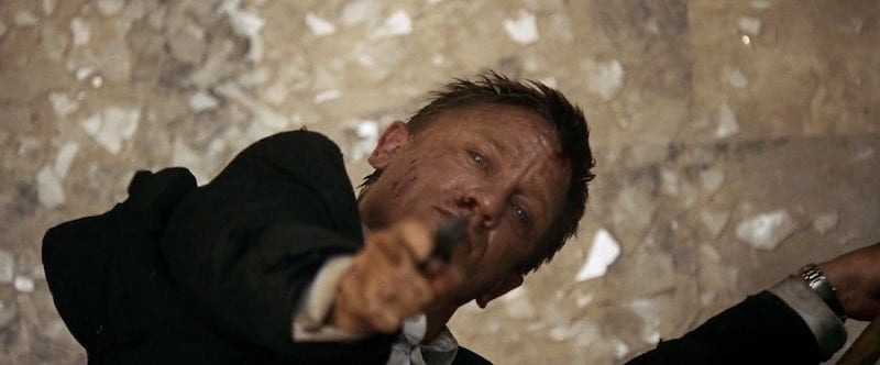 Quantum Of Solace James Bond Shots