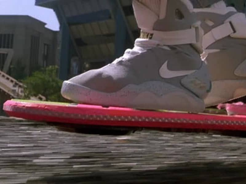 Back To The Future trademarks nike